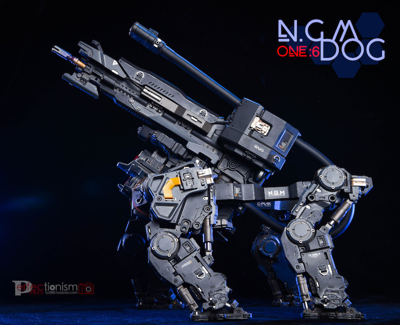 NEW PRODUCT: C-PLAN N.G.M. MILITARY MECHANICAL HOUND 1/6 SCALE POSABLE MODEL FIGURE O1cn0124