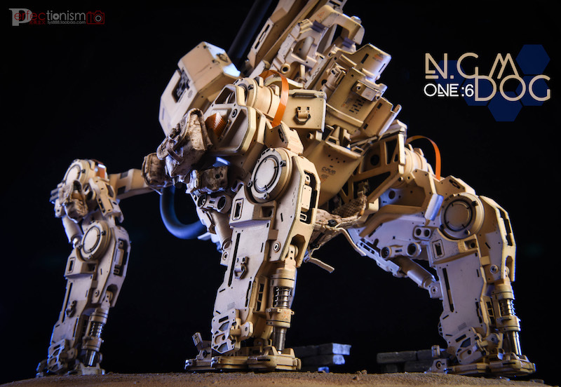 NEW PRODUCT: C-PLAN N.G.M. MILITARY MECHANICAL HOUND 1/6 SCALE POSABLE MODEL FIGURE O1cn0125