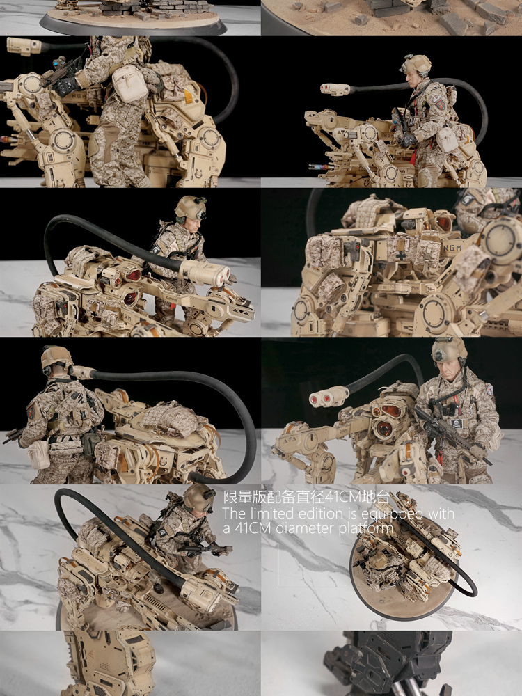 NEW PRODUCT: C-PLAN N.G.M. MILITARY MECHANICAL HOUND 1/6 SCALE POSABLE MODEL FIGURE O1cn0126