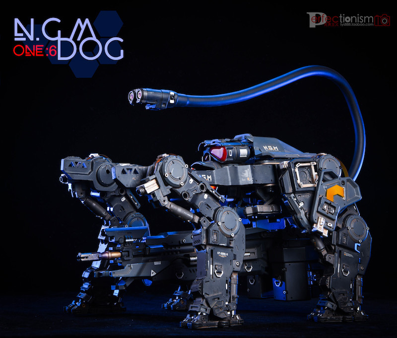 NEW PRODUCT: C-PLAN N.G.M. MILITARY MECHANICAL HOUND 1/6 SCALE POSABLE MODEL FIGURE O1cn0127