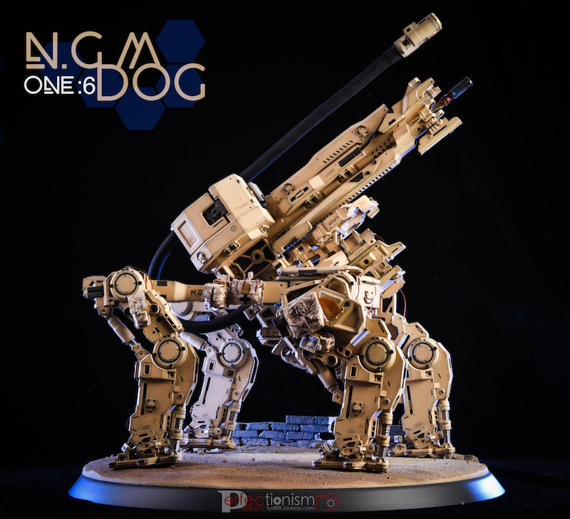 NEW PRODUCT: C-PLAN N.G.M. MILITARY MECHANICAL HOUND 1/6 SCALE POSABLE MODEL FIGURE O1cn0128