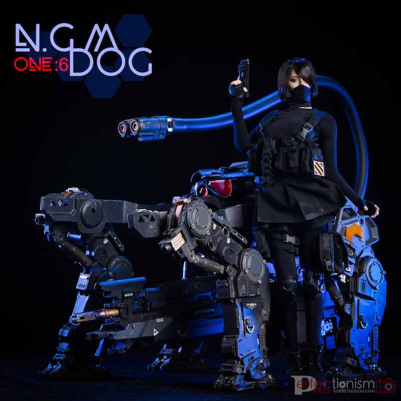 NEW PRODUCT: C-PLAN N.G.M. MILITARY MECHANICAL HOUND 1/6 SCALE POSABLE MODEL FIGURE O1cn0129