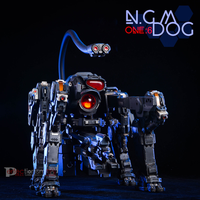 NEW PRODUCT: C-PLAN N.G.M. MILITARY MECHANICAL HOUND 1/6 SCALE POSABLE MODEL FIGURE O1cn0130