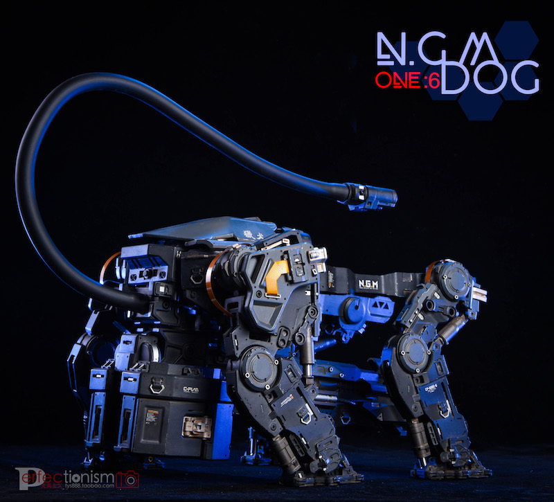 NEW PRODUCT: C-PLAN N.G.M. MILITARY MECHANICAL HOUND 1/6 SCALE POSABLE MODEL FIGURE O1cn0132