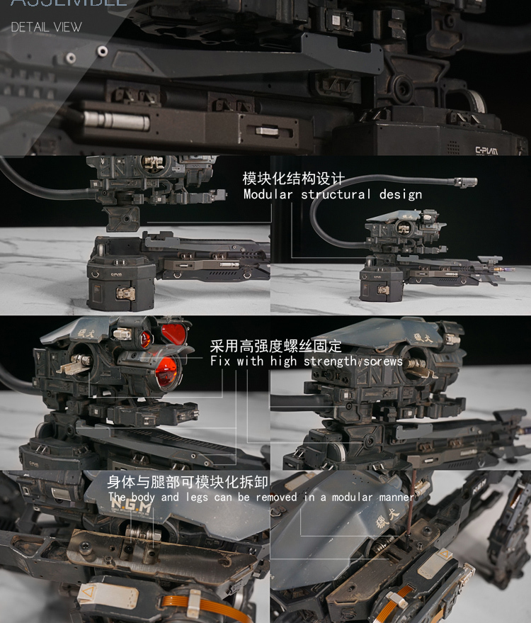 NEW PRODUCT: C-PLAN N.G.M. MILITARY MECHANICAL HOUND 1/6 SCALE POSABLE MODEL FIGURE O1cn0135