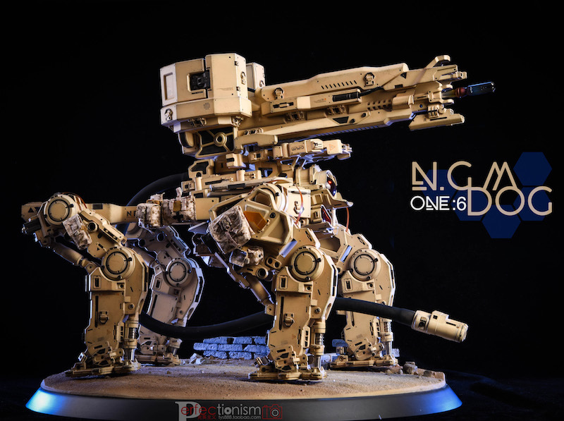 NEW PRODUCT: C-PLAN N.G.M. MILITARY MECHANICAL HOUND 1/6 SCALE POSABLE MODEL FIGURE O1cn0138