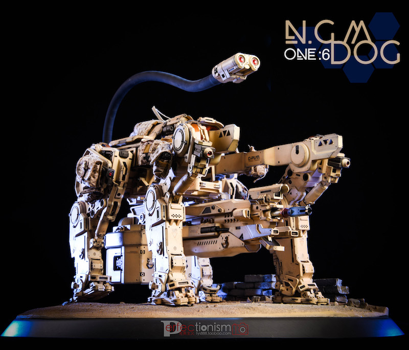 NEW PRODUCT: C-PLAN N.G.M. MILITARY MECHANICAL HOUND 1/6 SCALE POSABLE MODEL FIGURE O1cn0139