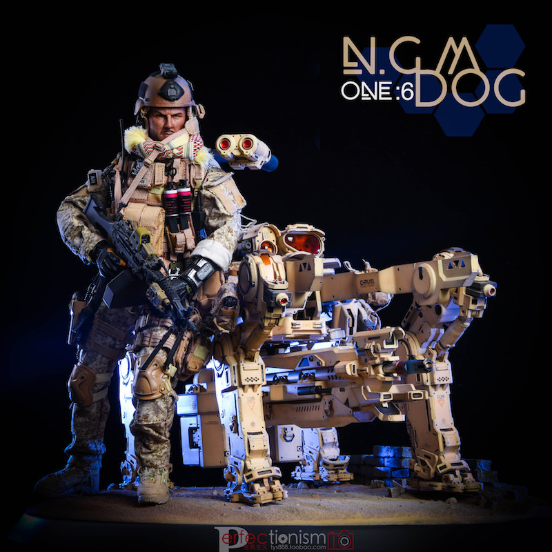 NEW PRODUCT: C-PLAN N.G.M. MILITARY MECHANICAL HOUND 1/6 SCALE POSABLE MODEL FIGURE O1cn0140
