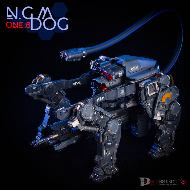 NEW PRODUCT: C-PLAN N.G.M. MILITARY MECHANICAL HOUND 1/6 SCALE POSABLE MODEL FIGURE O1cn0143