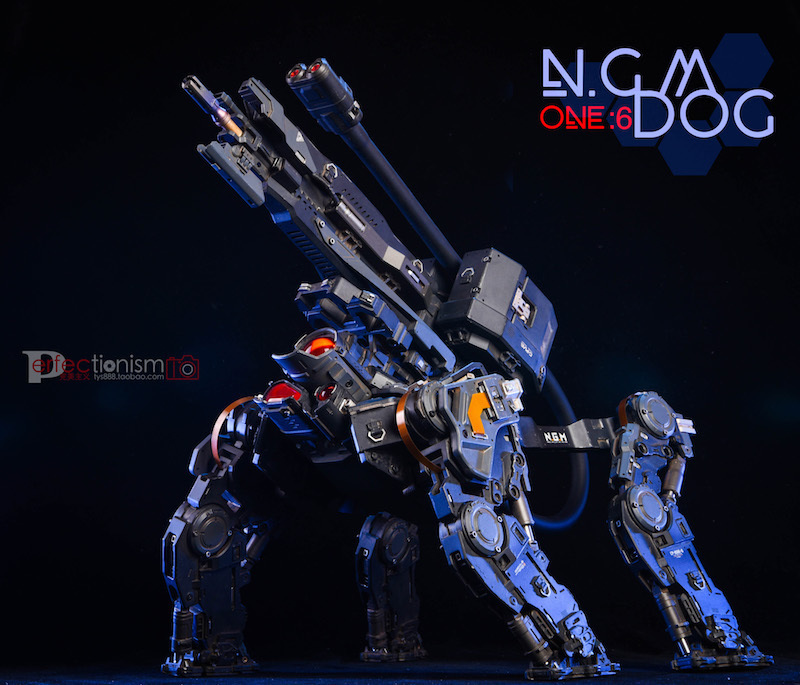 NEW PRODUCT: C-PLAN N.G.M. MILITARY MECHANICAL HOUND 1/6 SCALE POSABLE MODEL FIGURE O1cn0145