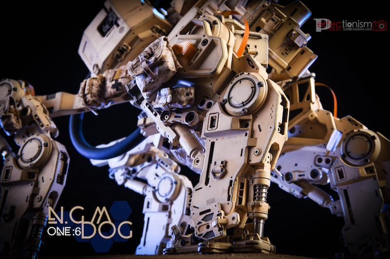 NEW PRODUCT: C-PLAN N.G.M. MILITARY MECHANICAL HOUND 1/6 SCALE POSABLE MODEL FIGURE O1cn0147