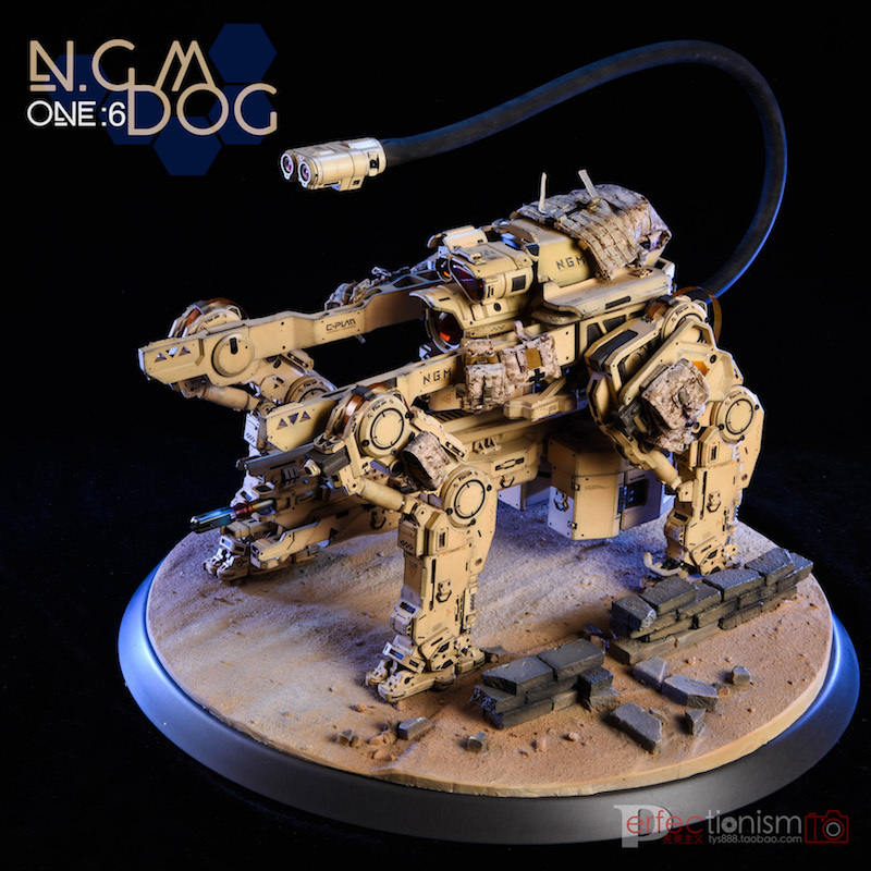 NEW PRODUCT: C-PLAN N.G.M. MILITARY MECHANICAL HOUND 1/6 SCALE POSABLE MODEL FIGURE O1cn0148