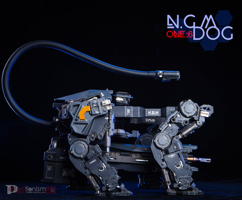 NEW PRODUCT: C-PLAN N.G.M. MILITARY MECHANICAL HOUND 1/6 SCALE POSABLE MODEL FIGURE O1cn0149