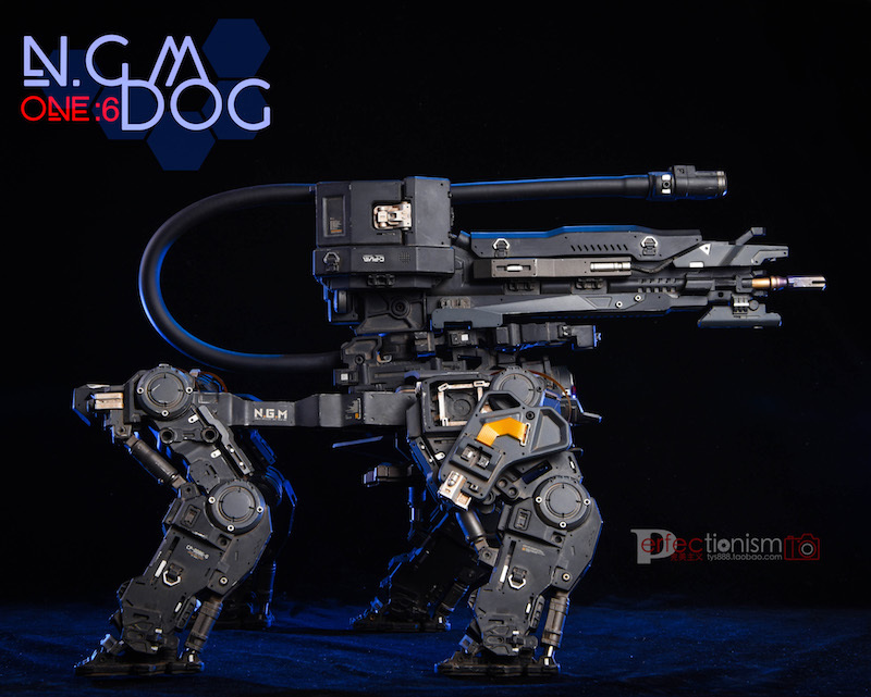 NEW PRODUCT: C-PLAN N.G.M. MILITARY MECHANICAL HOUND 1/6 SCALE POSABLE MODEL FIGURE O1cn0153