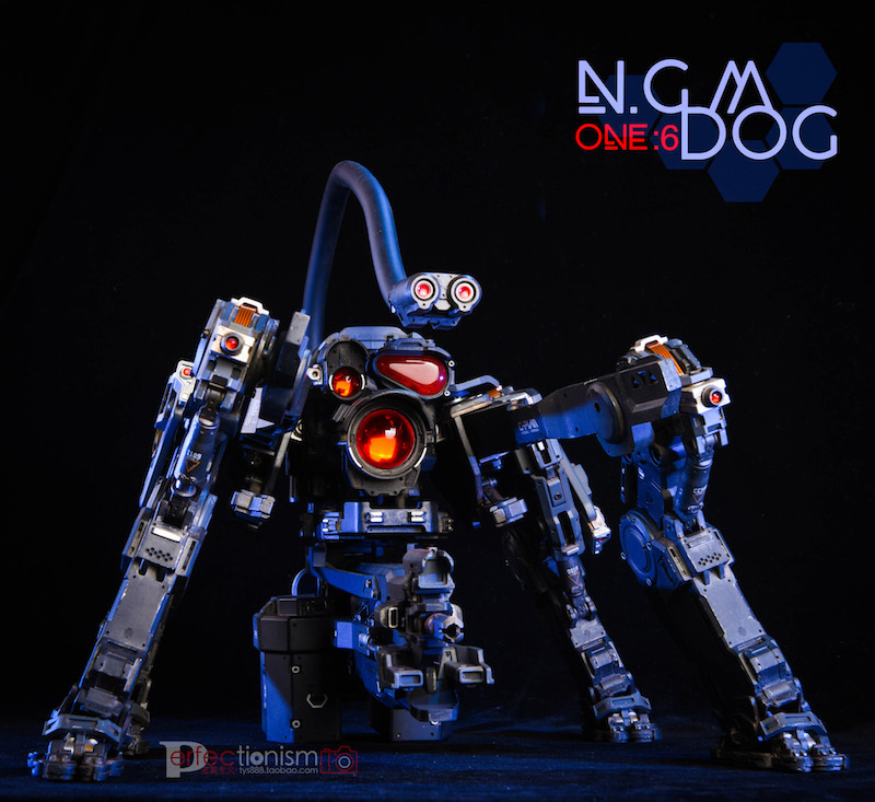 NEW PRODUCT: C-PLAN N.G.M. MILITARY MECHANICAL HOUND 1/6 SCALE POSABLE MODEL FIGURE O1cn0154