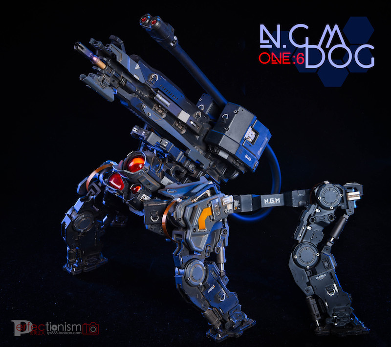 NEW PRODUCT: C-PLAN N.G.M. MILITARY MECHANICAL HOUND 1/6 SCALE POSABLE MODEL FIGURE O1cn0155