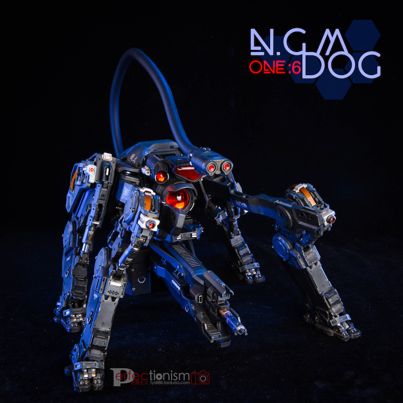 NEW PRODUCT: C-PLAN N.G.M. MILITARY MECHANICAL HOUND 1/6 SCALE POSABLE MODEL FIGURE O1cn0157