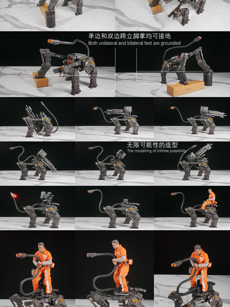 NEW PRODUCT: C-PLAN N.G.M. MILITARY MECHANICAL HOUND 1/6 SCALE POSABLE MODEL FIGURE O1cn0160