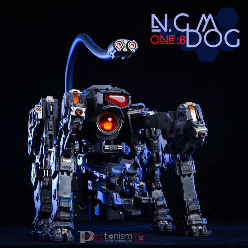 NEW PRODUCT: C-PLAN N.G.M. MILITARY MECHANICAL HOUND 1/6 SCALE POSABLE MODEL FIGURE O1cn0161