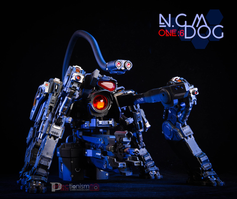NEW PRODUCT: C-PLAN N.G.M. MILITARY MECHANICAL HOUND 1/6 SCALE POSABLE MODEL FIGURE O1cn0162