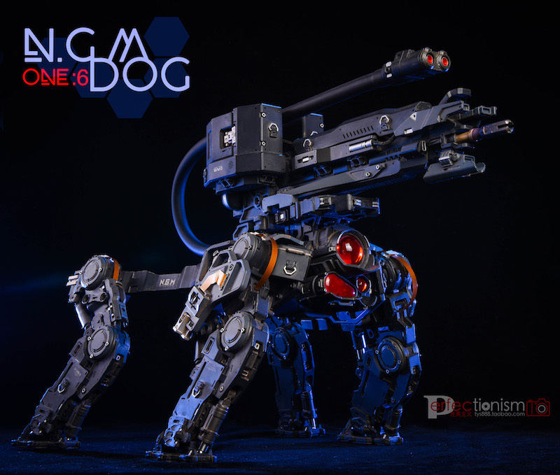NEW PRODUCT: C-PLAN N.G.M. MILITARY MECHANICAL HOUND 1/6 SCALE POSABLE MODEL FIGURE O1cn0163