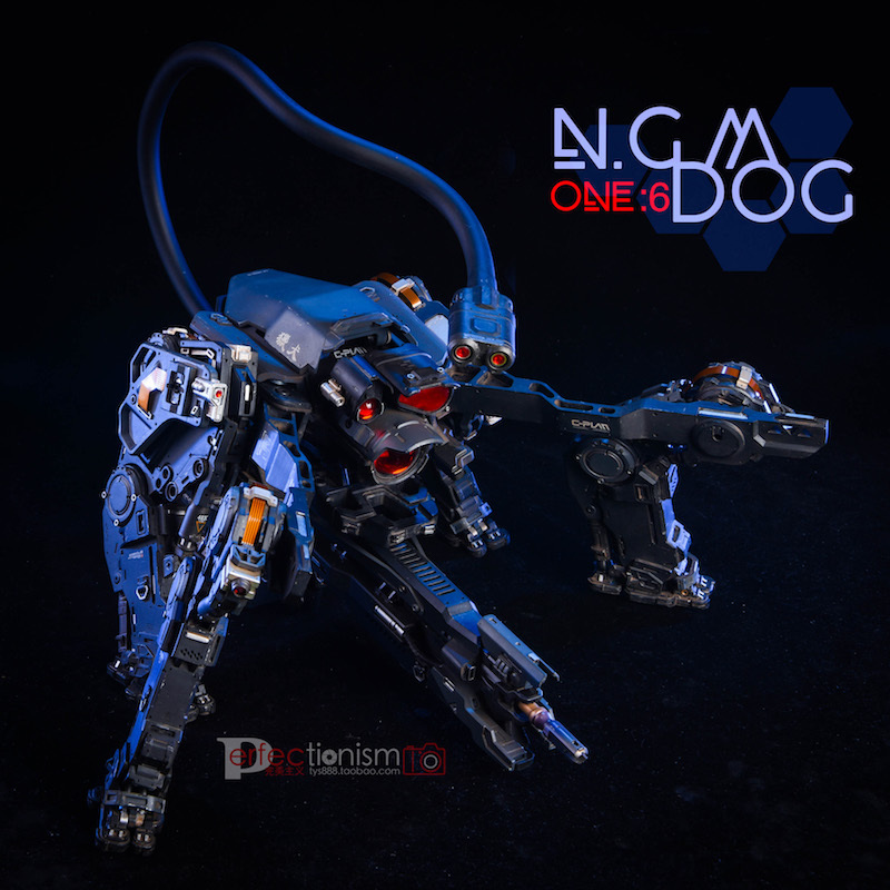NEW PRODUCT: C-PLAN N.G.M. MILITARY MECHANICAL HOUND 1/6 SCALE POSABLE MODEL FIGURE O1cn0165