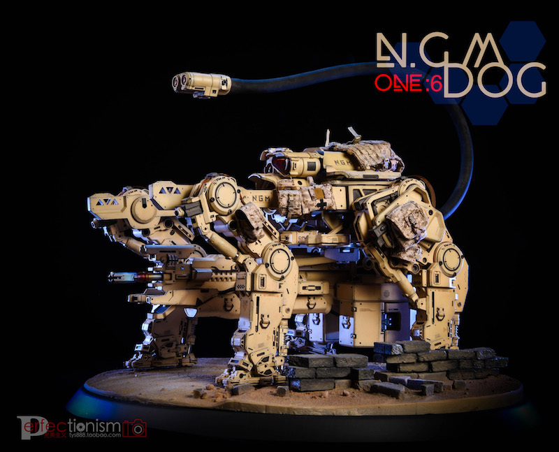 NEW PRODUCT: C-PLAN N.G.M. MILITARY MECHANICAL HOUND 1/6 SCALE POSABLE MODEL FIGURE O1cn0166