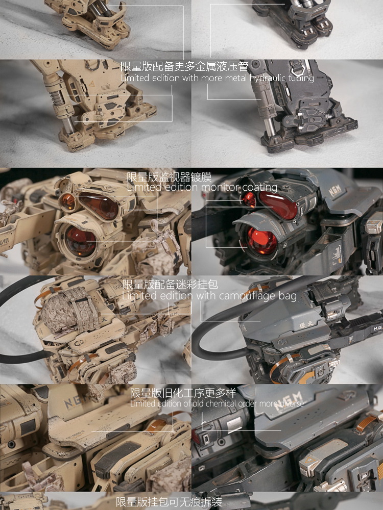 NEW PRODUCT: C-PLAN N.G.M. MILITARY MECHANICAL HOUND 1/6 SCALE POSABLE MODEL FIGURE O1cn0171