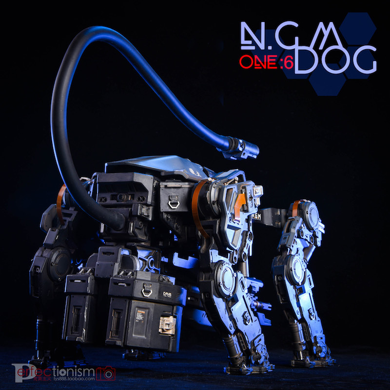 NEW PRODUCT: C-PLAN N.G.M. MILITARY MECHANICAL HOUND 1/6 SCALE POSABLE MODEL FIGURE O1cn0172