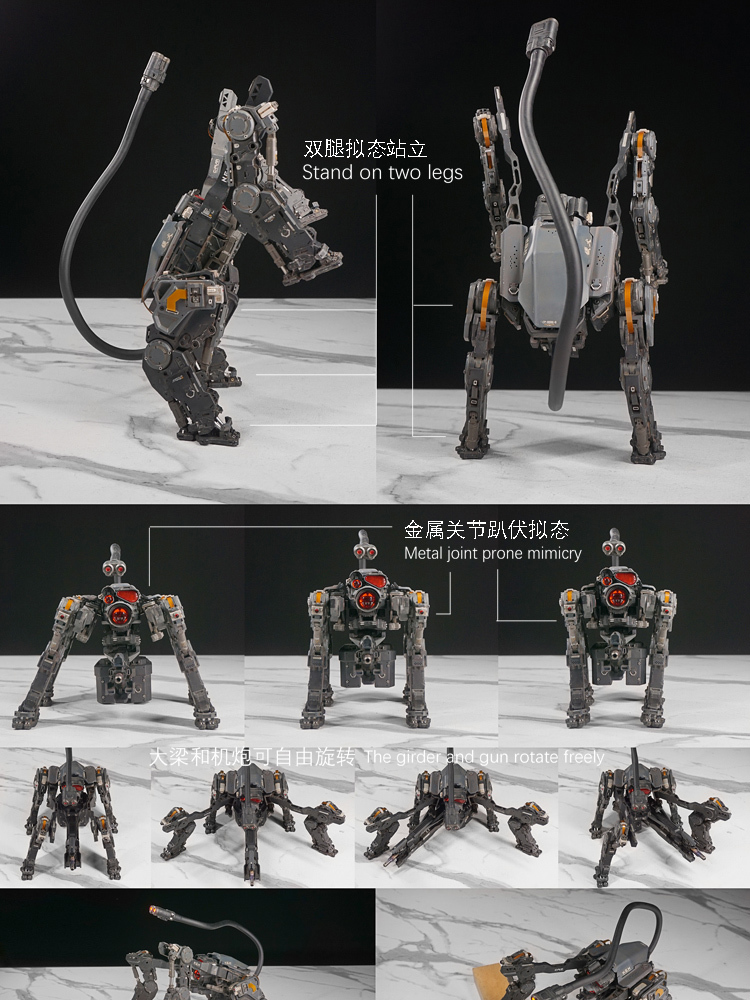 NEW PRODUCT: C-PLAN N.G.M. MILITARY MECHANICAL HOUND 1/6 SCALE POSABLE MODEL FIGURE O1cn0173