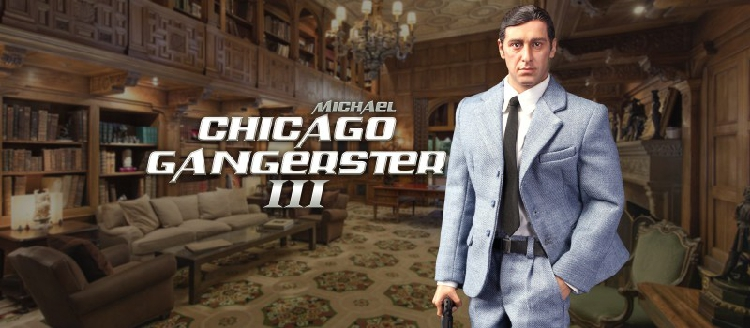 Michael - NEW PRODUCT: DiD Corporation: T80128  Chicago Gangster III Michael & T80128S  Chicago Gangster III Michael Deluxe Version O1cn0175