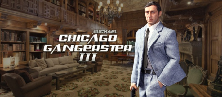 Michael - NEW PRODUCT: DiD Corporation: T80128  Chicago Gangster III Michael & T80128S  Chicago Gangster III Michael Deluxe Version O1cn0176