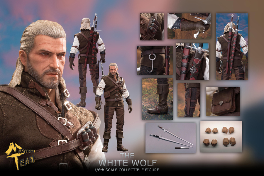 NEW PRODUCT: MTTOYS: The White Wolf 1/6 Scale Collectible Figure O1cn0191
