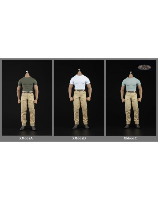 NEW PRODUCT: XRF XM003 1/6 Scale Muscular body costume set in 3 styles O1cn0220