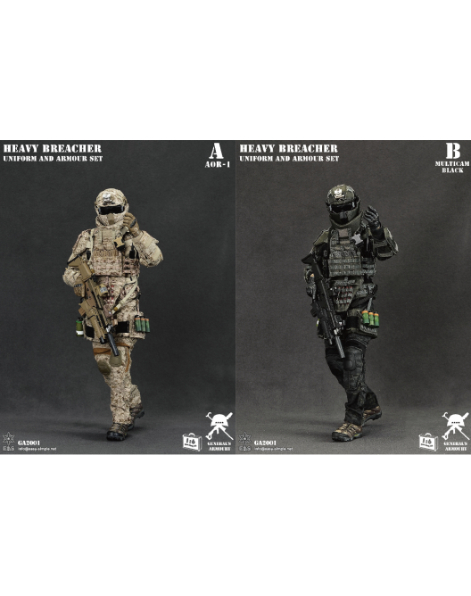 General - NEW PRODUCT: General's Armoury GA2001 1/6 Scale Heavy Breacher Uniform and Armour Set Qqo20112