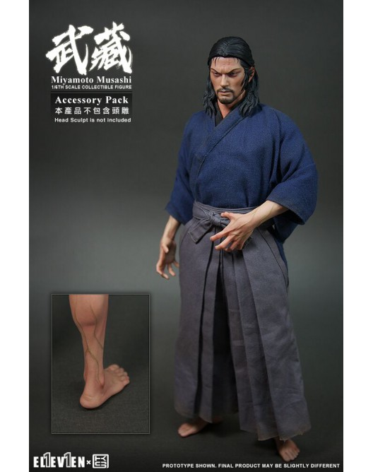 Musashi - NEW PRODUCT: Eleven & KAI 1/6 Scale Musashi Accessories Pack Qqo20138