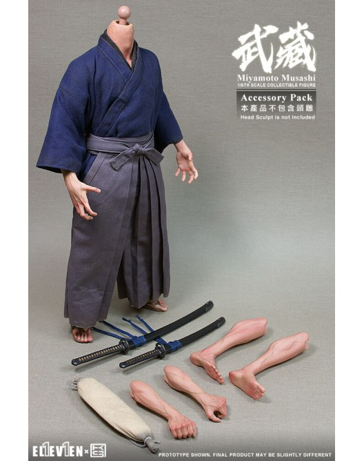 Musashi - NEW PRODUCT: Eleven & KAI 1/6 Scale Musashi Accessories Pack Qqo20140