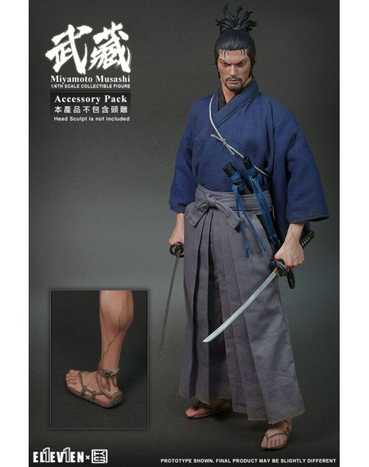 Manga - NEW PRODUCT: Eleven & KAI 1/6 Scale Musashi Accessories Pack Qqo20141