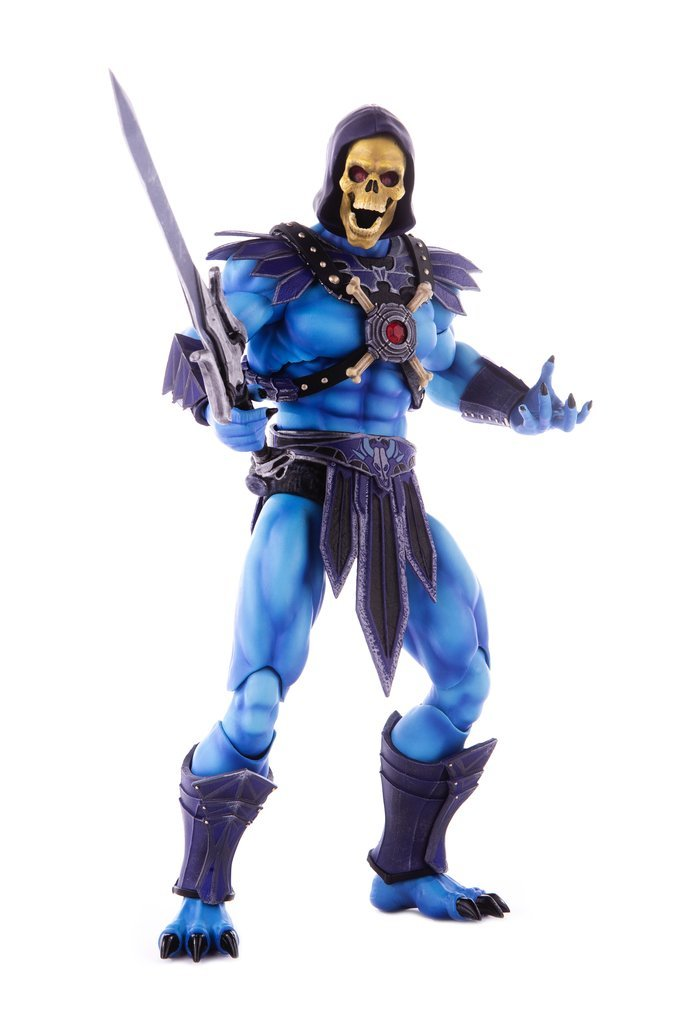 NEW PRODUCT: MONDO TEES SKELETOR 1/6 SCALE COLLECTIBLE ACTION FIGURE R3_00910