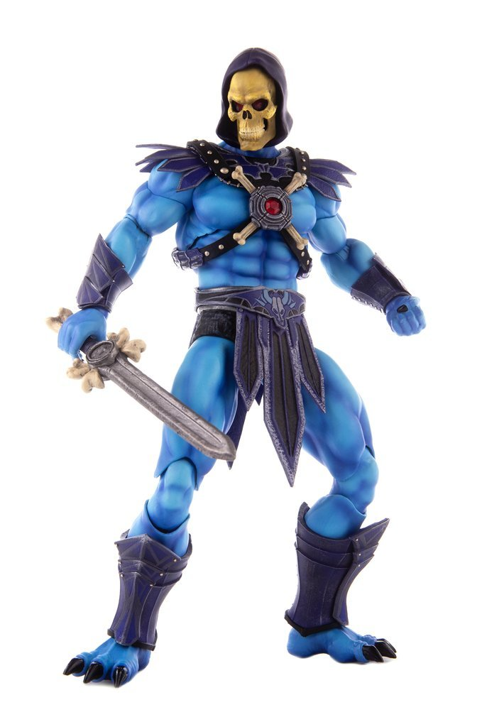NEW PRODUCT: MONDO TEES SKELETOR 1/6 SCALE COLLECTIBLE ACTION FIGURE R3_01110
