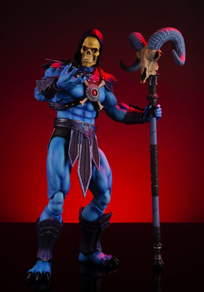 NEW PRODUCT: MONDO TEES SKELETOR 1/6 SCALE COLLECTIBLE ACTION FIGURE R3_99210