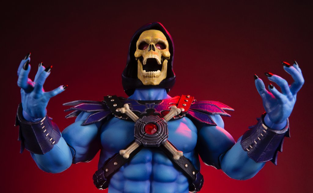 NEW PRODUCT: MONDO TEES SKELETOR 1/6 SCALE COLLECTIBLE ACTION FIGURE R3_99311