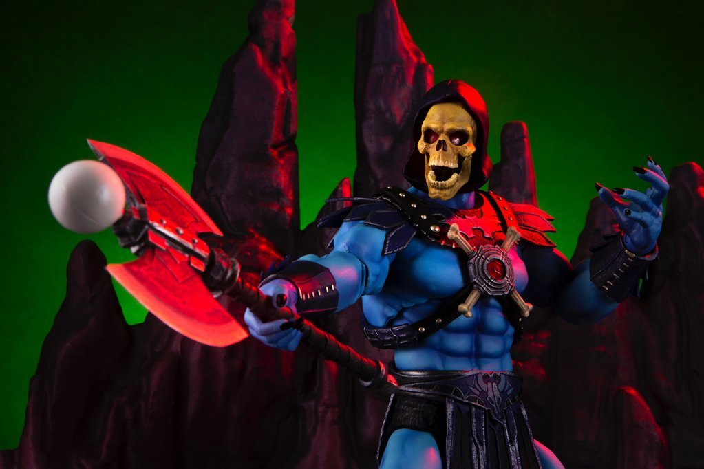 NEW PRODUCT: MONDO TEES SKELETOR 1/6 SCALE COLLECTIBLE ACTION FIGURE R3_99610