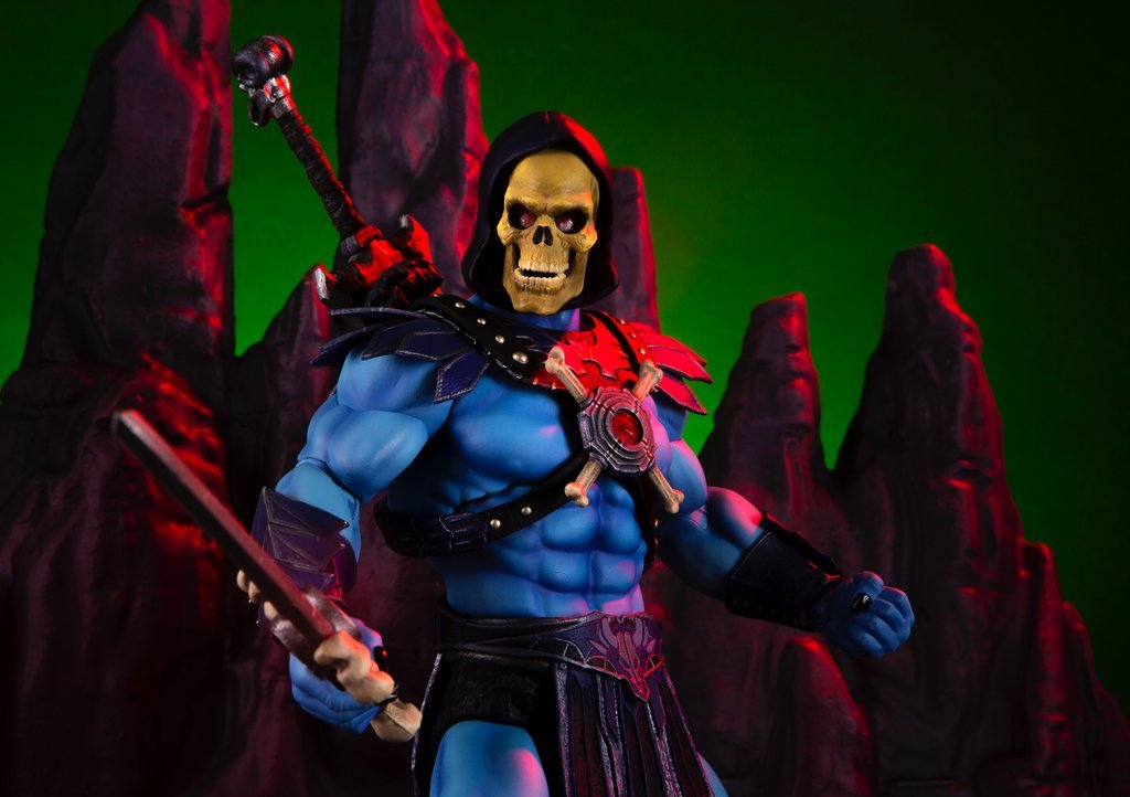 NEW PRODUCT: MONDO TEES SKELETOR 1/6 SCALE COLLECTIBLE ACTION FIGURE R3_99810