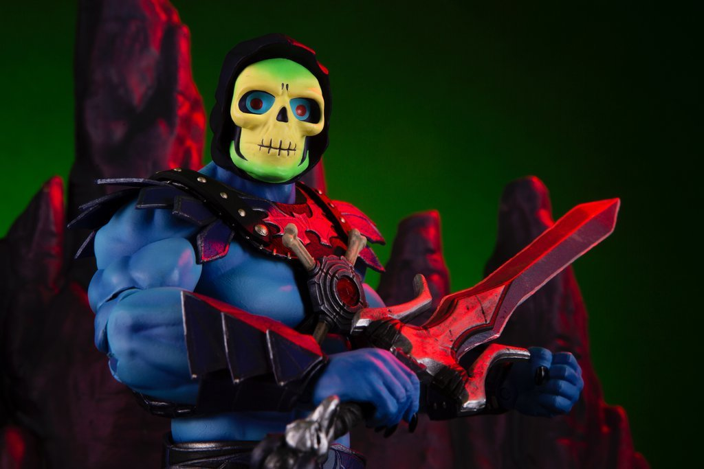NEW PRODUCT: MONDO TEES SKELETOR 1/6 SCALE COLLECTIBLE ACTION FIGURE R3_99910