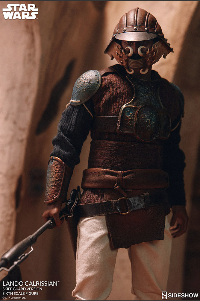 sci-fi - NEW PRODUCT: Sideshow Collectibles: Lando Calrissian Skiff Guard Version Sixth Scale Figure Scree178
