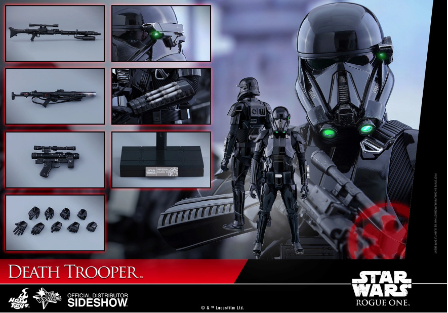 NEW PRODUCT: HOT TOYS: THE MANDALORIAN: DEATH TROOPER 1/6TH SCALE COLLECTIBLE FIGURE Scree194