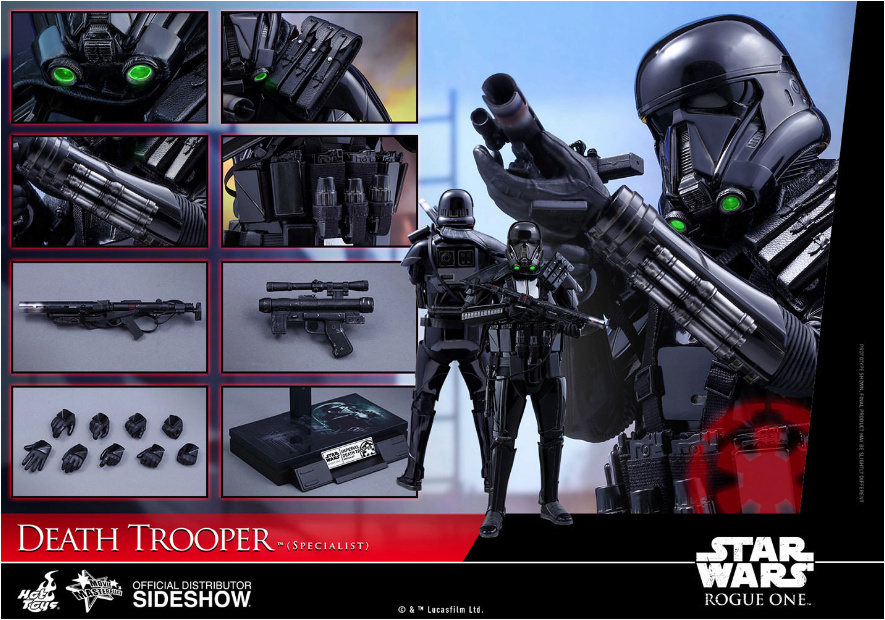 NEW PRODUCT: HOT TOYS: THE MANDALORIAN: DEATH TROOPER 1/6TH SCALE COLLECTIBLE FIGURE Scree195