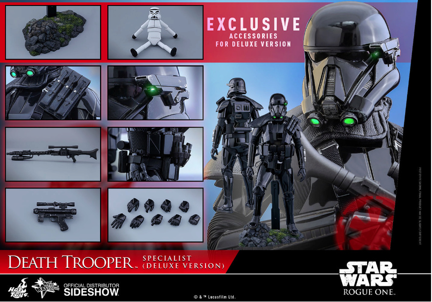 NEW PRODUCT: HOT TOYS: THE MANDALORIAN: DEATH TROOPER 1/6TH SCALE COLLECTIBLE FIGURE Scree196
