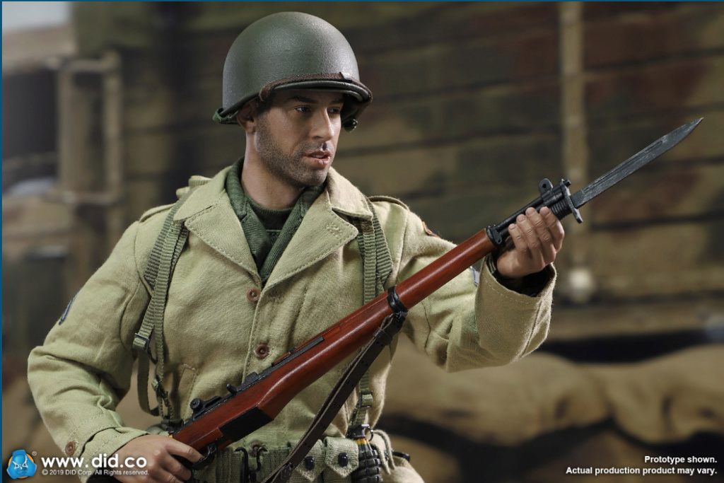 male - NEW PRODUCT: DID: A80140 WWII US 2nd Ranger Battalion Series 1 Private Caparzo Scree225